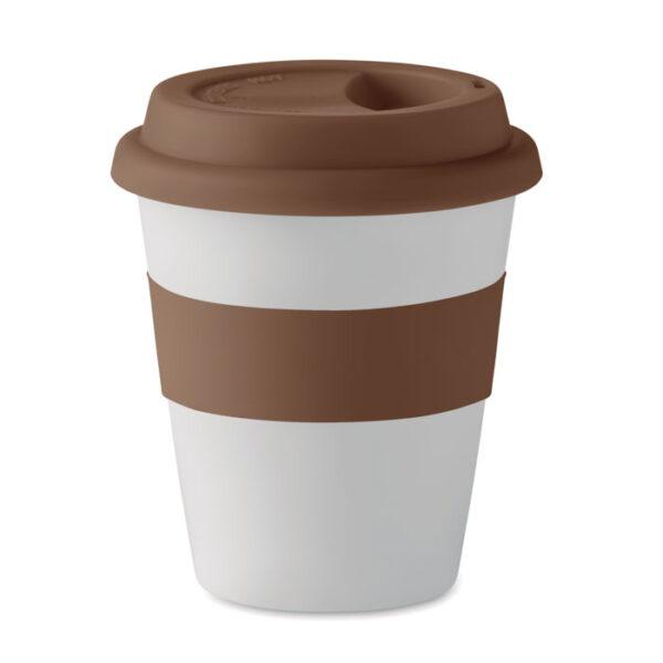 Termo puodelis su logotipu